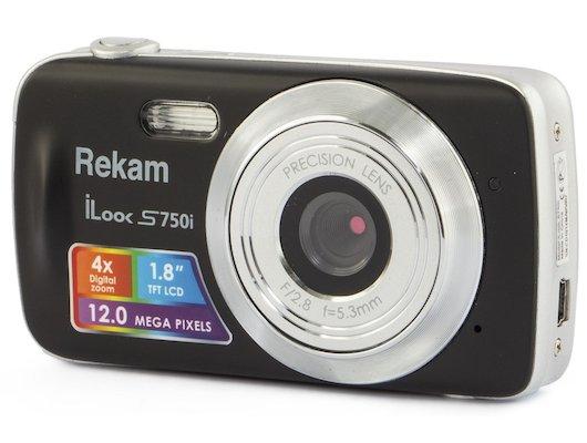 Фотоаппарат компактный Rekam iLook S750i черный