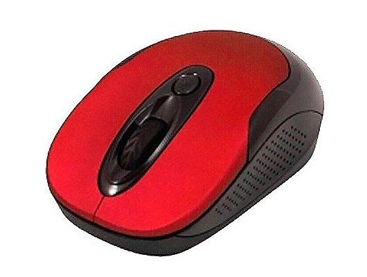 Мышь беспроводная Jet.A OM-U30G Red c бесшумными клавишами, Noiseless (800/1600dpi)