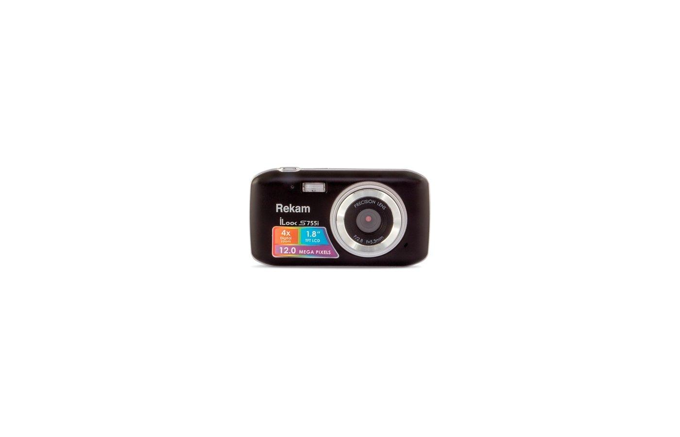 Фотоаппарат компактный Rekam iLook S755i черный