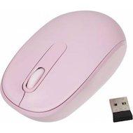 Фото Мышь беспроводная Microsoft Mobile Mouse 1850 розовый оптическая (1000dpi) беспроводная USB для ноутбука (2but)