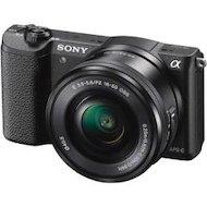 Фотоаппарат со сменной оптикой SONY ILCE A5100LB 16-50mm black