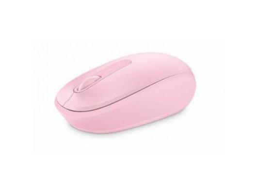 Мышь беспроводная Microsoft Mobile Mouse 1850 розовый оптическая (1000dpi) беспроводная USB для ноутбука (2but)