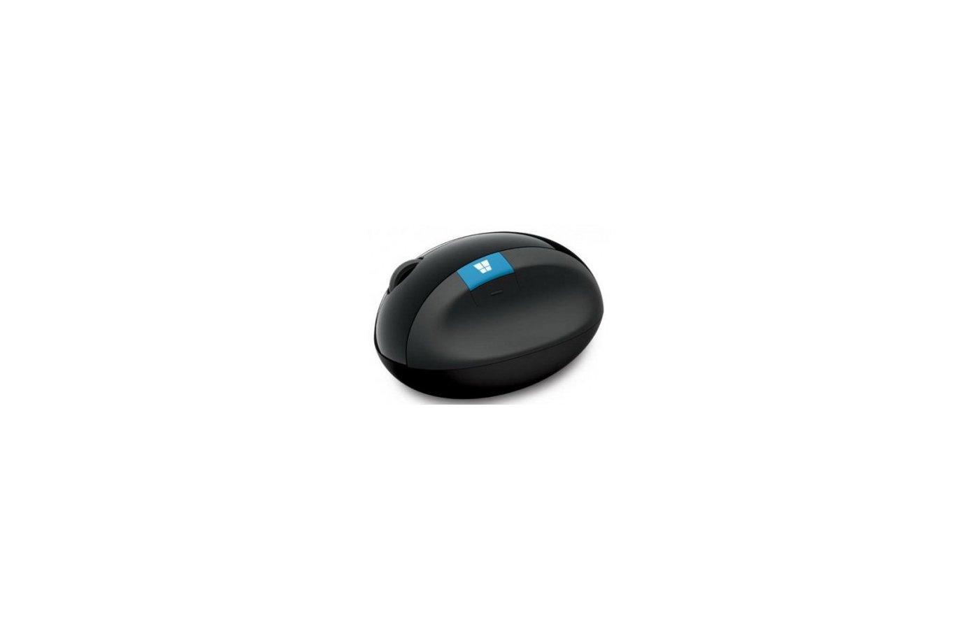 Мышь беспроводная Microsoft Sculpt ERGO черный оптическая (1000dpi) беспроводная USB (3but)