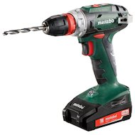 Дрель METABO BS 18 Quick  2x2.0Ач