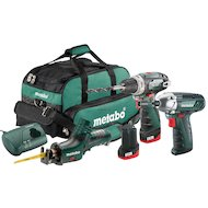 Фото Дрель METABO Combo Set 3.2: BS+ASE+SSD+2x2.0Ач в сумке