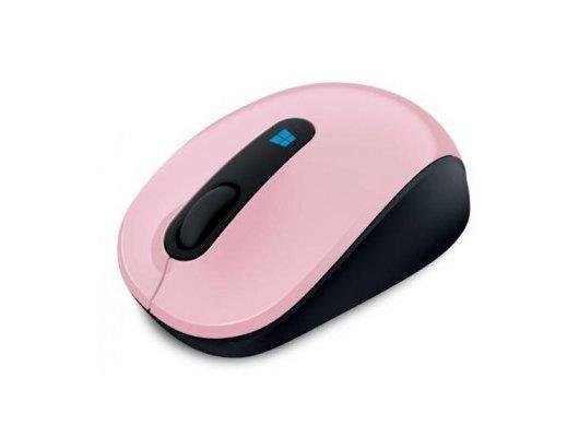Мышь беспроводная Microsoft Sculpt розовый оптическая (1000dpi) беспроводная USB2.0 для ноутбука (3but)