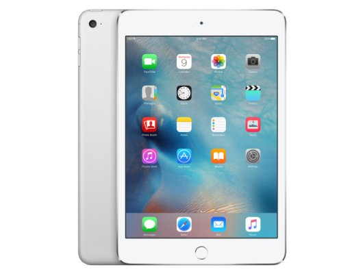 Планшет Apple iPad mini 4 Wi-Fi + Cellular 64GB - Silver (MK732RU/A)