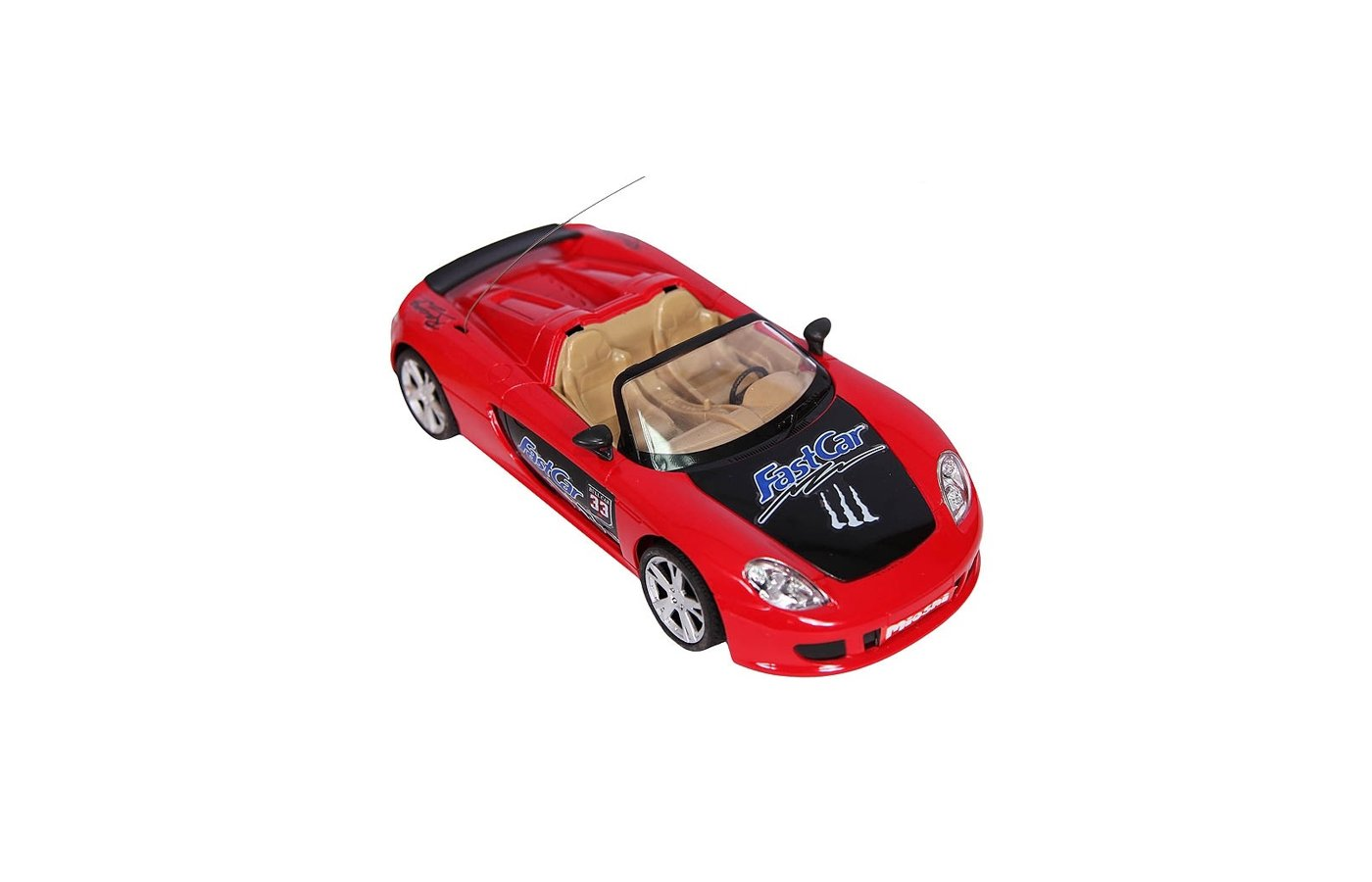 Игрушка MioshiTech Автомобиль 24см на аккум. 2012-3 красно-черный