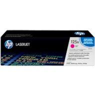 Картридж лазерный HP 125A CB543A пурпурный для CLJ CP1215/CP1515/CP1518 (1400стр.)