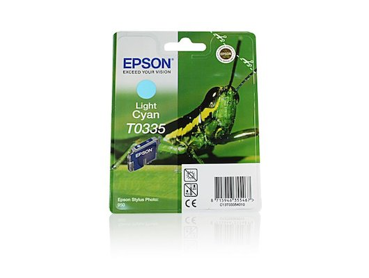 Картридж струйный Epson C13T03354010 картридж Cyan light для Stylus Photo 950 (светло-голубой)
