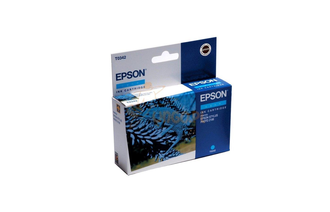 Картридж струйный Epson C13T03424010 картридж Cyan для Stylus Photo 2100 (голубой)