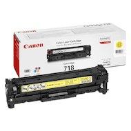 Фото Картридж лазерный Canon 718 жёлтый для LBP7200Cdn/MF8330Cdn/MF8350Cn (2659B002)