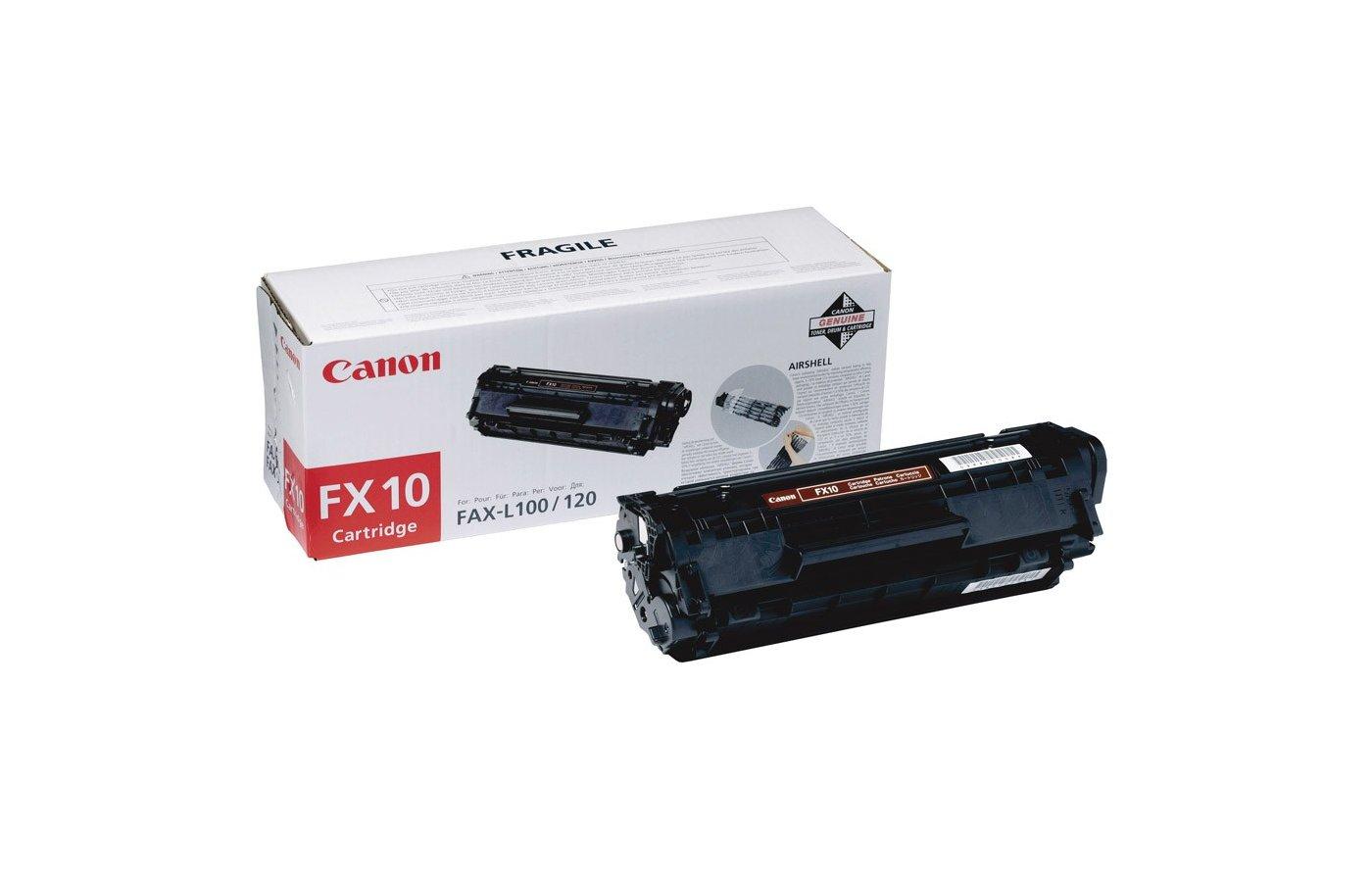 Картридж лазерный Canon FX-10 для MF4018/4120/4140/4150/4270/4320/4330/4340/4350/4370