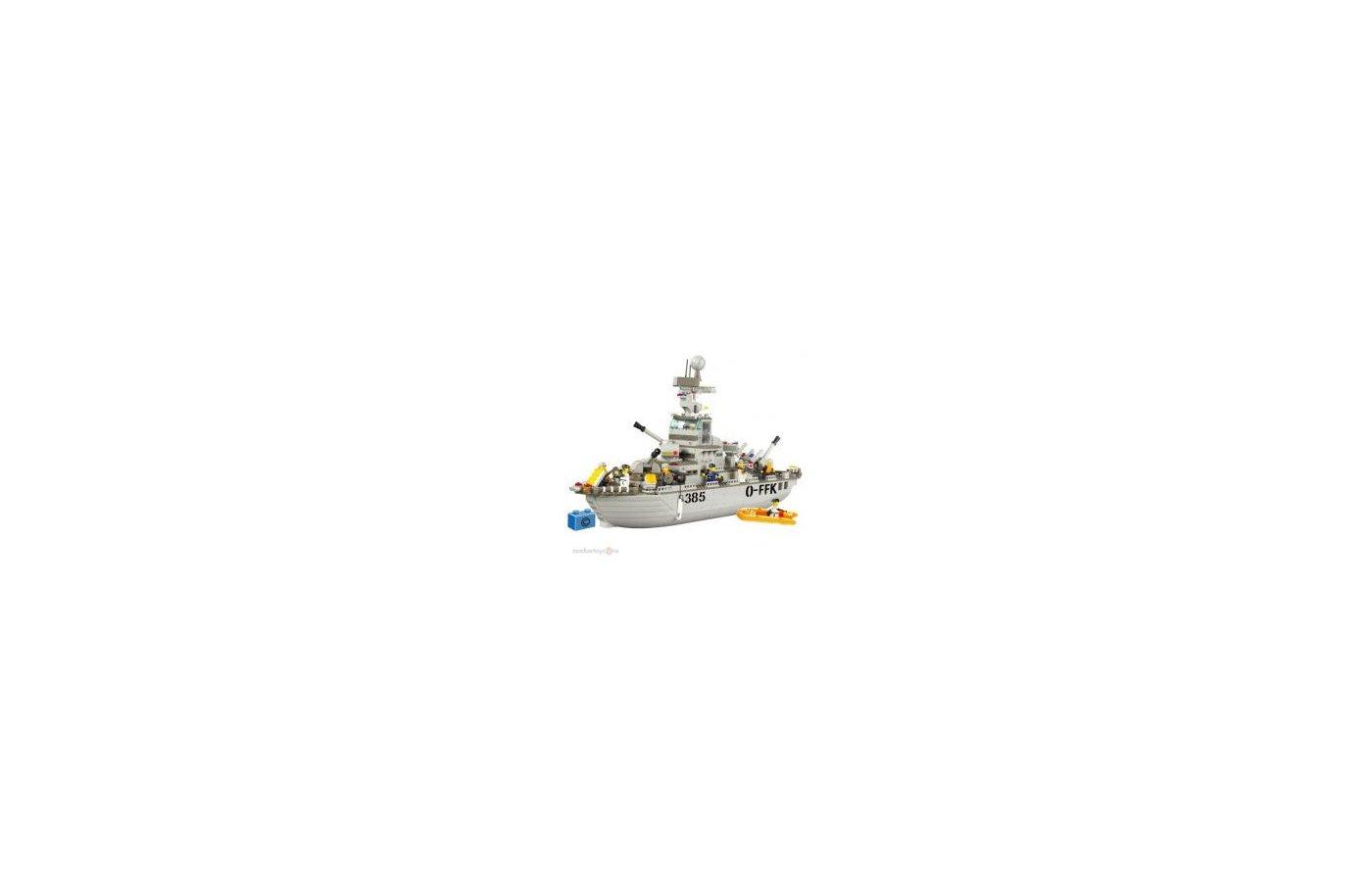 Конструктор SLUBAN 38-0126 Корабль