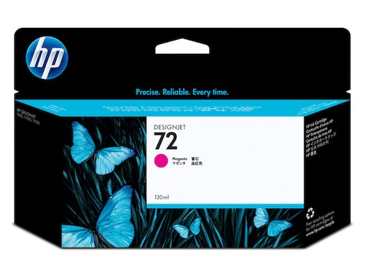 Картридж струйный HP C9372A N72 magenta 130 ml.