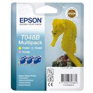 Картридж струйный Epson C13T048B4010 картридж (MultiPack(Cyan light,Magenta light,Yellow) R200/R300/RX500/RX600)