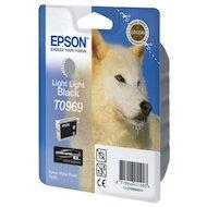 Картридж струйный Epson T0969 C13T09694010 светло-чёрный R2880 (11 мл)
