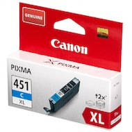 Фото Картридж струйный Canon CLI-451C XL