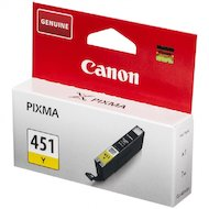 Фото Картридж струйный Canon CLI-451Y XL