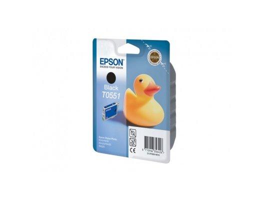 Картридж струйный Epson C13T05514010 черный для RX520/R240