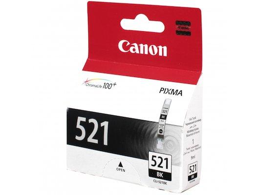 Картридж струйный Canon CLI-521BK