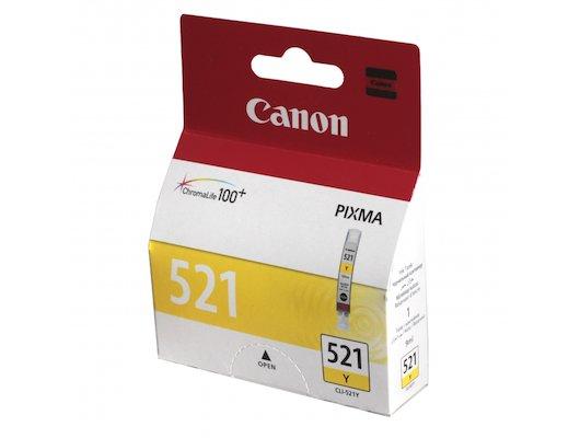Картридж струйный Canon CLI-521Y