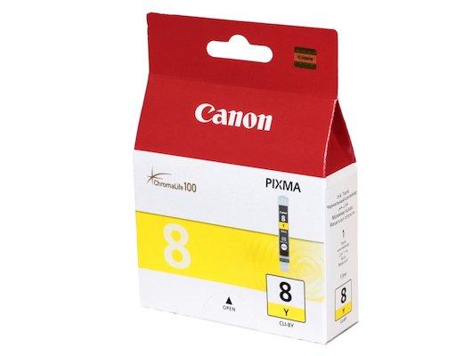 Картридж струйный Canon CLI-8Y