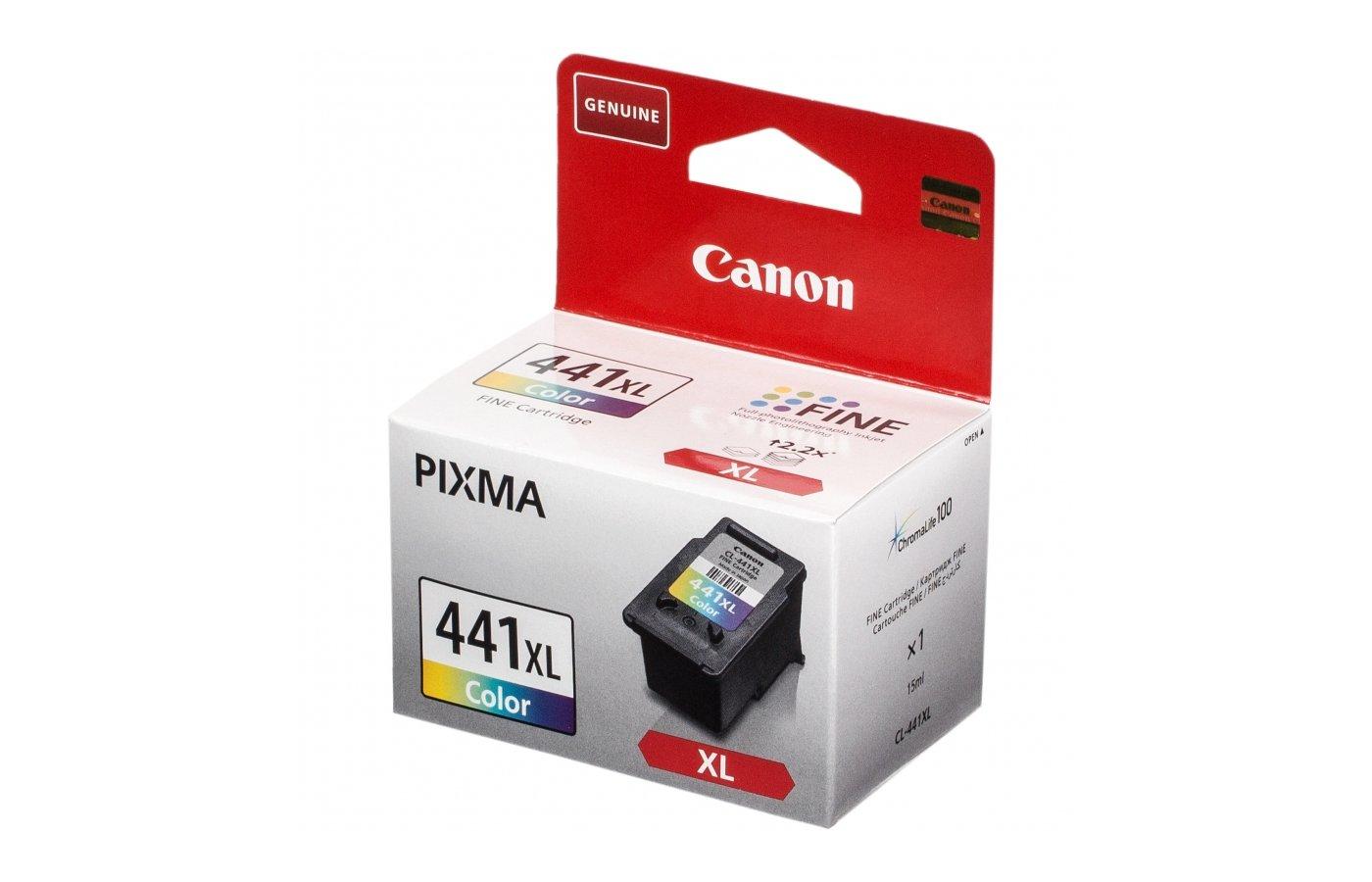Картридж струйный Canon CL-441XL цветной