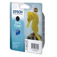 Картридж струйный Epson C13T048140 черный для Stylus Photo R300/RX500