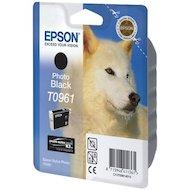 Картридж струйный Epson T0961 C13T09614010 черный R2880 (11 мл)