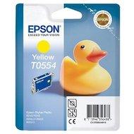 Картридж струйный Epson C13T05544010 желтый для RX520/R240