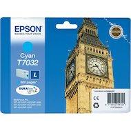 Фото Картридж струйный Epson C13T70324010 картридж (Cyan для WP-4000/5000 series,L 0.8k (голубой))