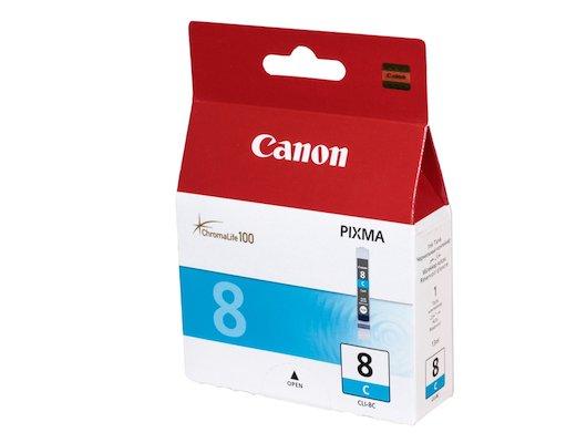 Картридж струйный Canon Canon CLI-8C голубой для Pixma iP6600D, iP4200, 5200, 5200R