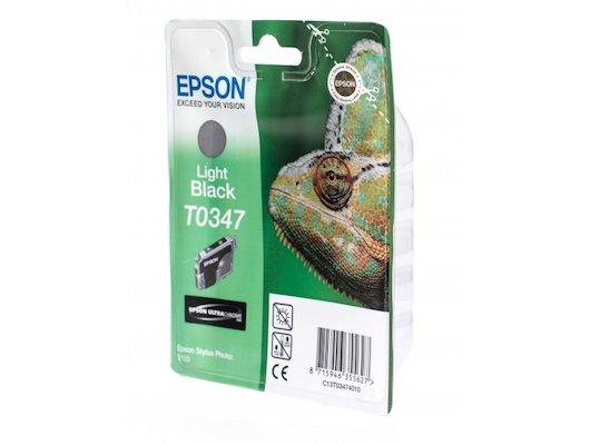 Картридж струйный Epson C13T034740 серый для Stylus Photo 2100