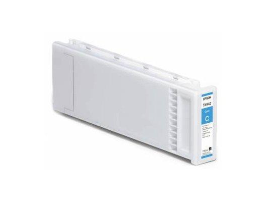 Картридж струйный Epson C13T694200 Epson картридж (Cyan для T3000/5000/7000 (700ml) (голубой))