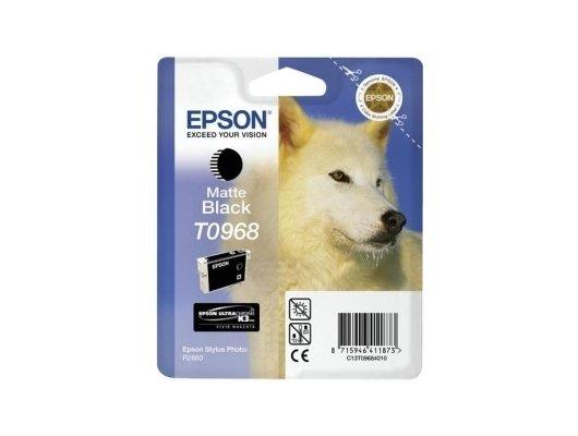 Картридж струйный Epson T0968 C13T09684010 черный матовый R2880 (11 мл)