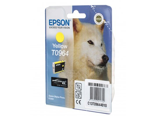 Картридж струйный Epson T0964 C13T09644010 желтый R2880 (11 мл)