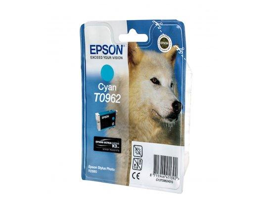 Картридж струйный Epson T0962 C13T09624010 голубой R2880 (11 мл)