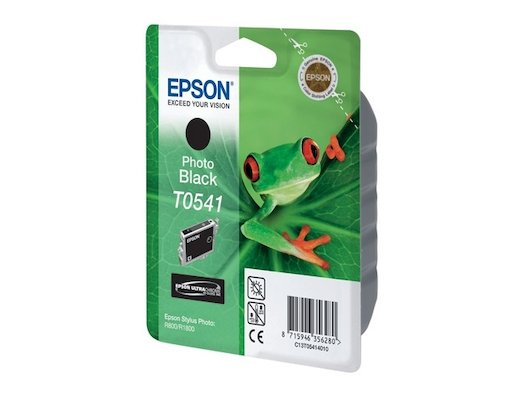 Картридж струйный Epson C13T054140 черный для Stylus Photo R800