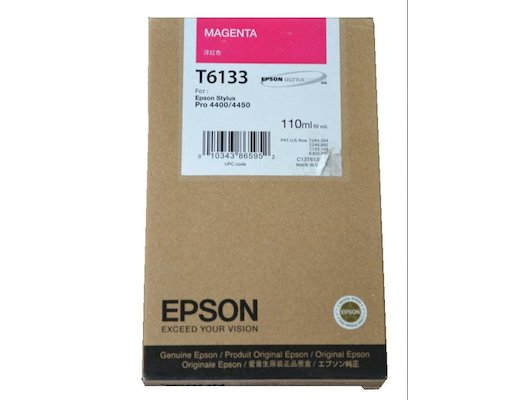 Картридж струйный EPSON C13T613300 для Stylus Pro 4450 110 мл пурпурный