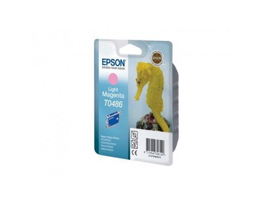 Картридж струйный Epson C13T048640 светло-пурпурный для Stylus Photo R300/RX500