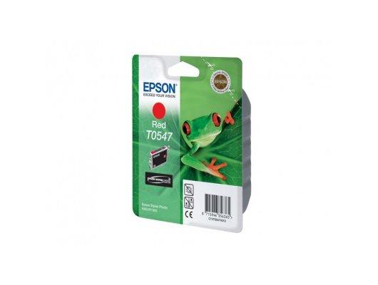 Картридж струйный Epson C13T054740 красный для Stylus Photo R800