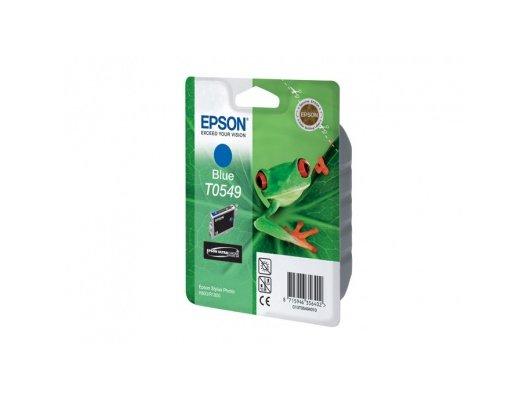 Картридж струйный Epson C13T054940 синий для Stylus Photo R800