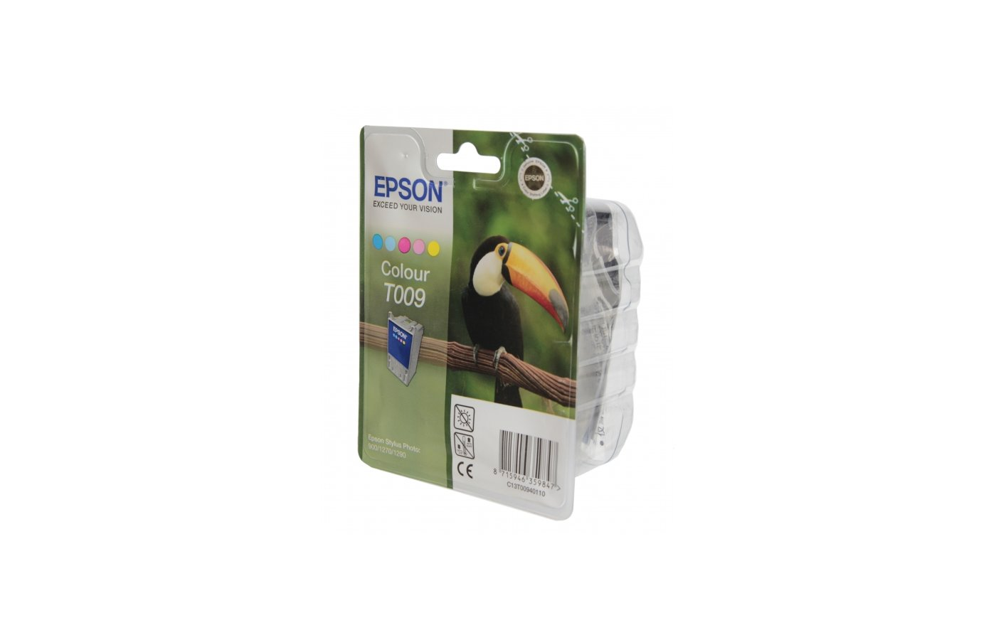 Картридж струйный Epson C13T009401 цветной для Stylus Photo 1270