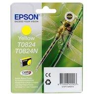 Картридж струйный Epson C13T11244A10 картридж (Yellow для Stylus Photo R270/R290/RX590 (желтый))