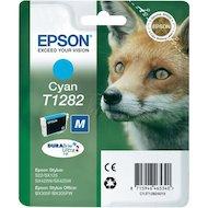 Фото Картридж струйный Epson C13T12824011 картридж (Cyan для Stylus S22/SX130/SX230/SX420W/SX425W/BX305F (голубой))