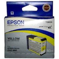 Фото Картридж струйный Epson C13T580400 картридж (Yellow для Stylus PRO 3800 (желтый))