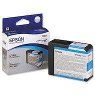 Фото Картридж струйный Epson C13T580200 картридж (Cyan для Stylus PRO 3800 (голубой))