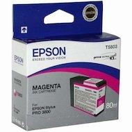 Фото Картридж струйный Epson C13T580300 картридж (Magenta для Stylus PRO 3800 (пурпурный))