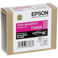 Фото Картридж струйный Epson C13T580A00 картридж (Vivid Magenta для Stylus PRO 3800 (насыщенный пурпурный))